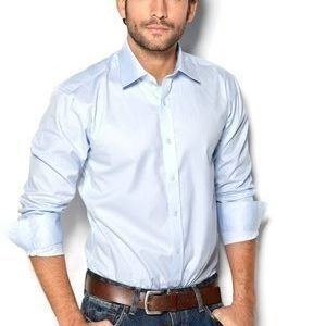 Selected Homme One Pelle Santiago Shirt vaaleansininen