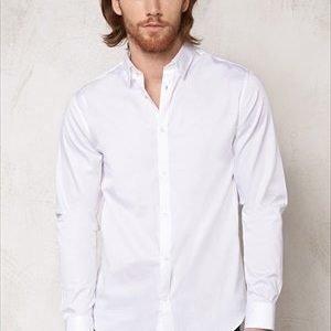 Selected Homme One Travistbelfast Shirt White