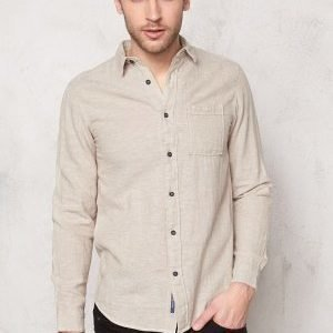 Selected Homme One Trent Solid Shirt Abbey Stone