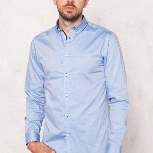 Selected Homme Onemark Shirt LS Light Blue