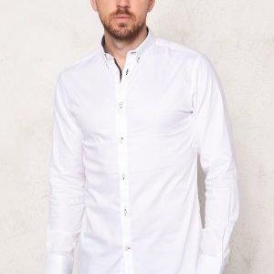 Selected Homme Onemark Shirt LS White