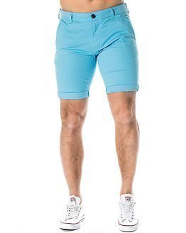 Selected Homme Paris Blue Grotto Shorts