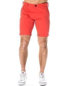 Selected Homme Paris Spiced Coral Shorts