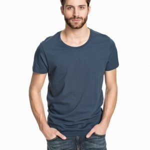 Selected Homme Pima New Dave Deep Noos T-paita Insignia Blue