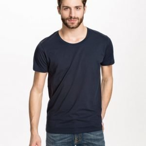 Selected Homme Pima New Dave Deep Noos T-paita Night Sky