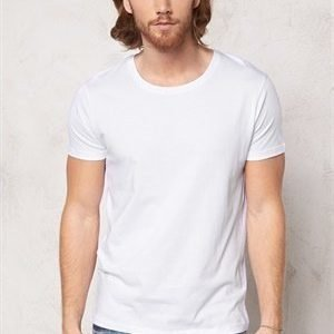 Selected Homme Pima New Dave ss T-shirt Bright White XXL