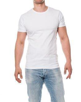 Selected Homme Pima O-neck White