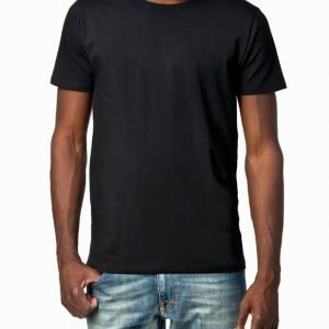 Selected Homme Pima Ss O-Neck Noos T-paita Musta