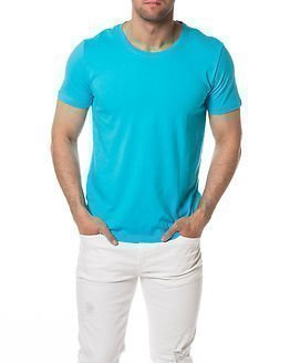 Selected Homme Pimadave O-Neck Blue Atoll