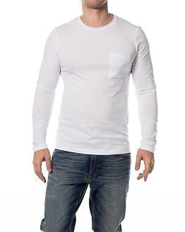 Selected Homme Pimaflorence Tee White