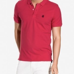 Selected Homme Shdaro Ss Embroidery Polo Noos Pusero Pink