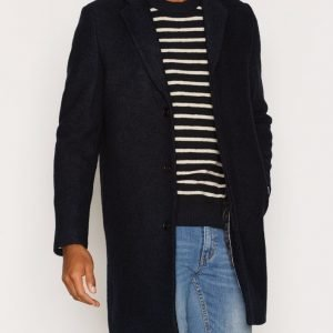 Selected Homme Shdbrook Boucle Coat Takki Tummansininen