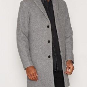 Selected Homme Shdbrook Coat Takki Vaaleanharmaa