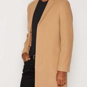 Selected Homme Shdbrook Coat Takki Vaaleanruskea