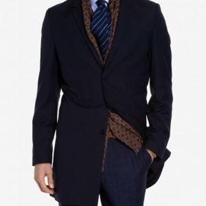 Selected Homme Shdbrook Navy Coat B Takki Tummansininen