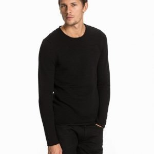 Selected Homme Shdgary Crew Neck Noos Pusero Musta