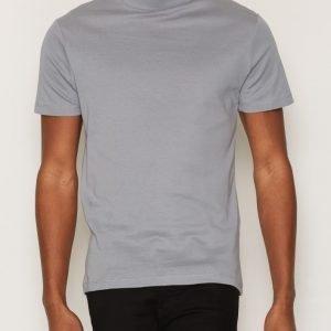 Selected Homme Shdhigh Ss O-Neck Tee T-paita Sininen
