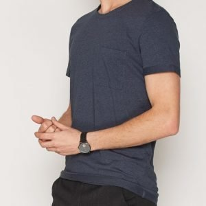 Selected Homme Shdholden Ss O-Neck Tee T-paita Sininen