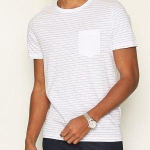 Selected Homme Shdivan Ss O-Neck Tee T-paita Bright White