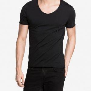 Selected Homme Shdmerce Ss O-Neck Noos T-paita Musta