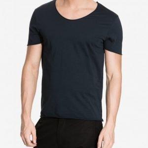 Selected Homme Shdmerce Ss O-Neck Noos T-paita Sininen