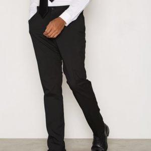 Selected Homme Shdnewone-MYLOLOGAN1 Black Trouser Housut Musta