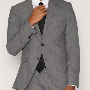 Selected Homme Shdnewone-MYLOLOGAN1 Grey Blazer No Bleiseri Harmaa
