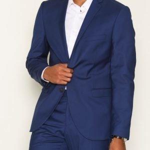 Selected Homme Shdone-Buffalobee New Blue Blazer Bleiseri Tummansininen