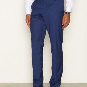 Selected Homme Shdone-Buffalobee New Blue Trouser Pukuhousut Tummansininen