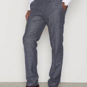 Selected Homme Shdone-Myloiver Grey Trouser Housut Harmaa