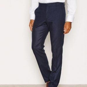 Selected Homme Shdone-Myloiver Navy Trouser Pukuhousut Tummansininen
