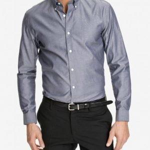 Selected Homme Shdone Oak Shirt Ls Kauluspaita Dark Blue