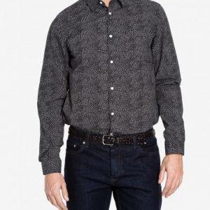 Selected Homme Shdonebenson Shirt Ls Kauluspaita Musta