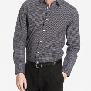 Selected Homme Shdonechristian Shirt Ls Kauluspaita Musta