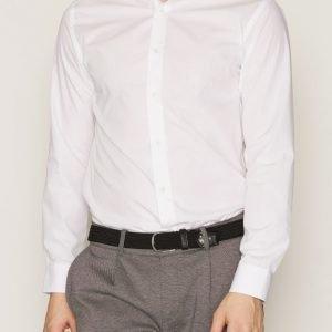 Selected Homme Shdonefree Shirt Ls Kauluspaita Valkoinen