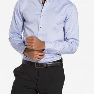 Selected Homme Shdonemark Shirt Ls Noos T-paita Vaaleansininen