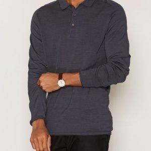 Selected Homme Shdporter Knitted Polo Pikeepaita Sininen