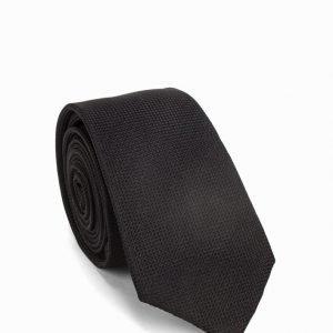 Selected Homme Shdtexture Tie Noos Solmio Black