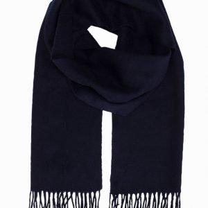 Selected Homme Shdtope Wool Scarf Kaulahuivi Tummansininen