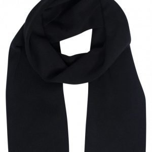 Selected Homme Shhleth Cotton Scarf Kaulahuivi Musta
