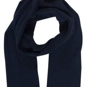 Selected Homme Shhleth Cotton Scarf Kaulahuivi Tummansininen