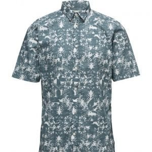 Selected Homme Shhtwosunset Shirt Ss lyhythihainen paita