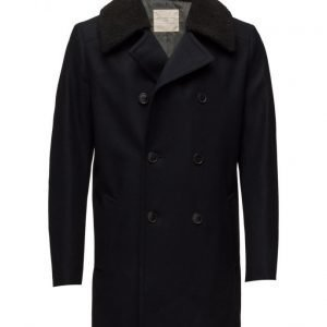 Selected Homme Shnlong Peacoat villakangastakki