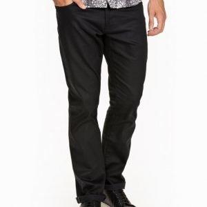 Selected Homme Shnthreedean Unwash Black St-Jeans Farkut Musta