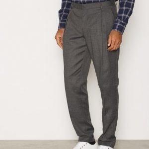 Selected Homme Shxanti-Bendix Trousers Pukuhousut Harmaa