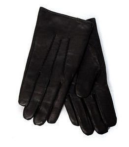 Selected Homme Terrance Leather Glove Black