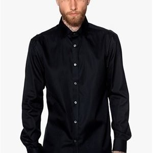 Selected Homme Two Henry Coy Shirt Black