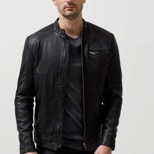 Selected New Tylor Leather Jacket Nahkatakki