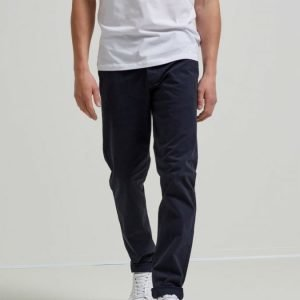 Selected One Luca Navy Skinny Fit Chinoshousut