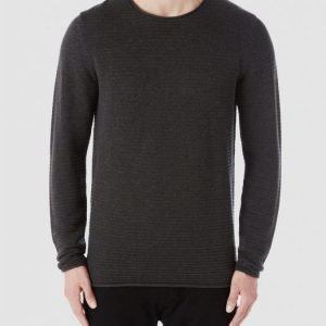 Selected Shcarrie Crew Neck Puuvillaneule